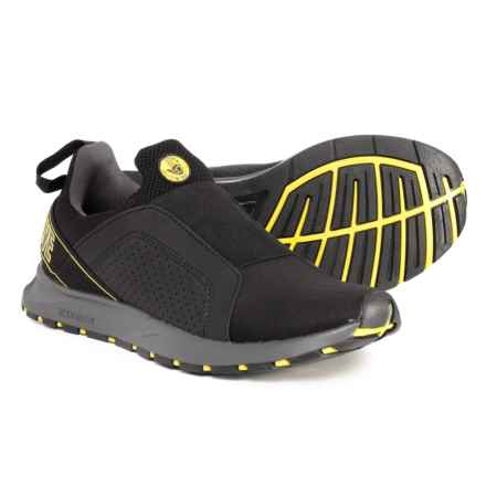 Body Glove Fiorano Casual Sneakers (For Men) in Black/Yellow - Closeouts