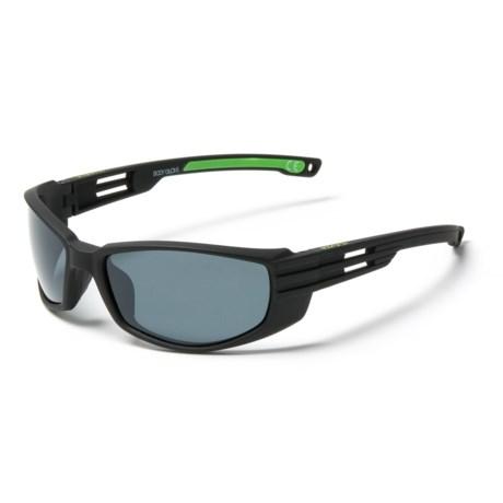 fa6c4e8531e Body Glove FL 20 Sunglasses - Polarized (For Men) in Black Gray
