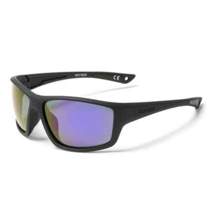 305266277b Body Glove FL 21 Mirror Sunglasses - Polarized (For Men) in Black Purple