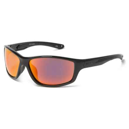 Body Glove FL 25 Sunglasses - Polarized in Black/Red Mirror - Closeouts