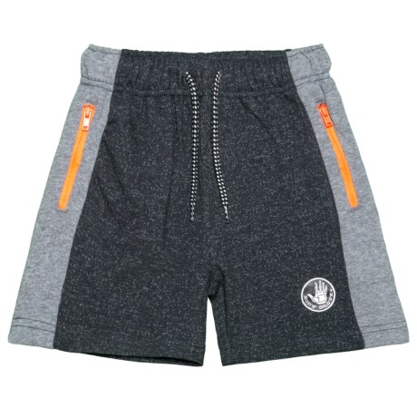 Body Glove French Terry Shorts (For Little Boys) in Black