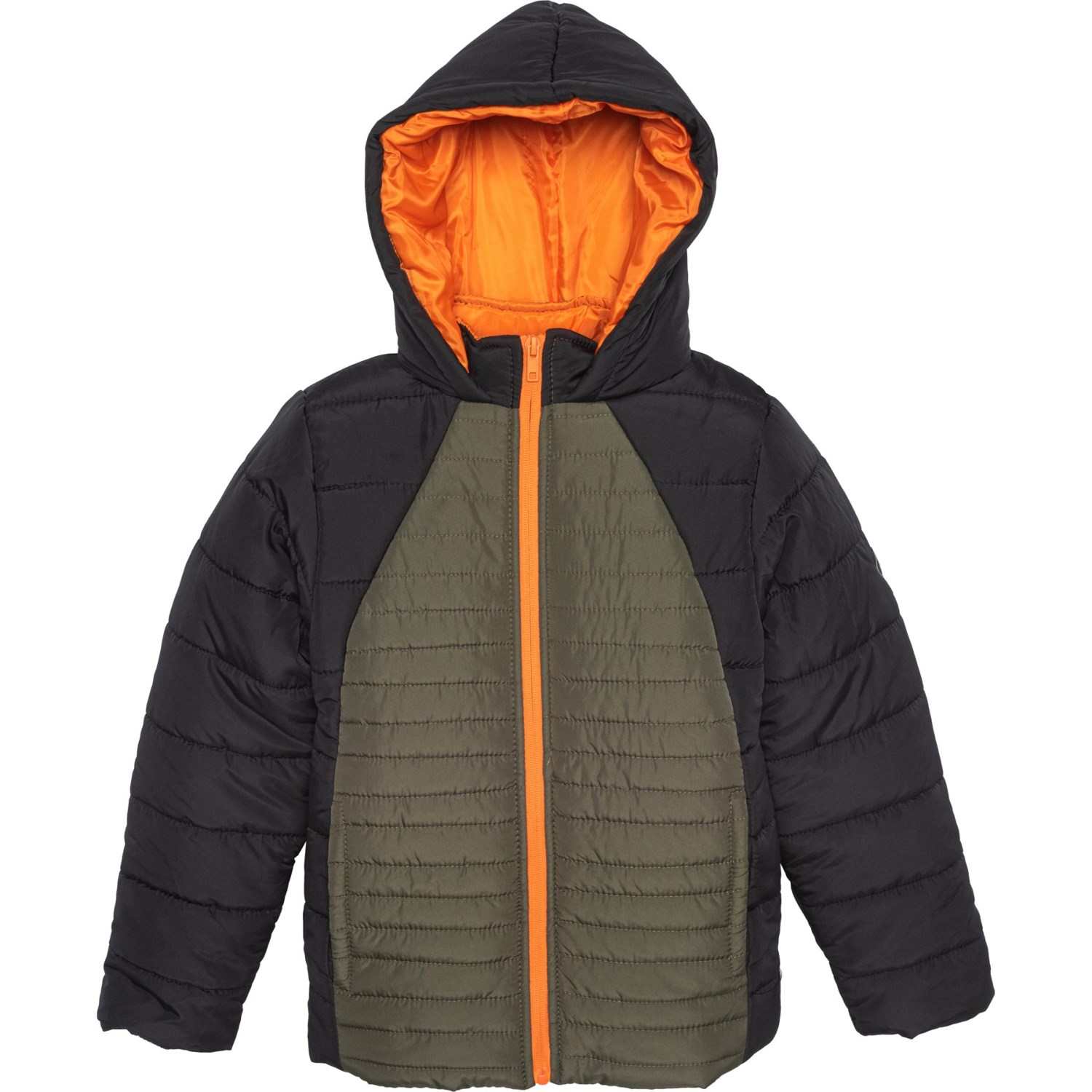 Body Glove Full Zip Hooded Puffer Jacket (For Big Boys