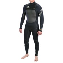 Body Glove Fusion Neo-Zip Full Wetsuit - 3/2mm (For Men) in Black - Closeouts