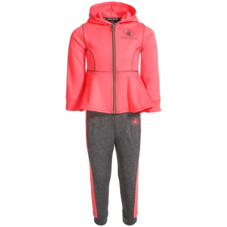 Body Glove Hoodie and Pants Set (For Little Girls) in Multi