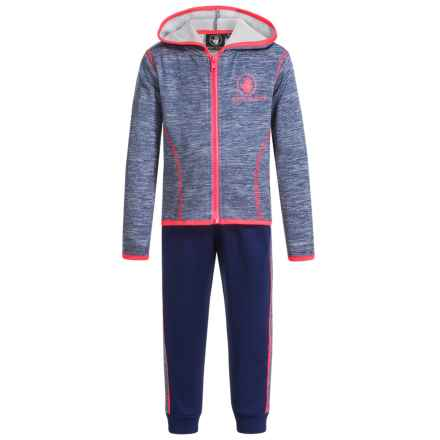 Body Glove Hoodie and Sweatpants Set (For Toddlers) in Multi - Closeouts