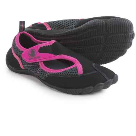 Body Glove Horizon Water Shoes (For Little and Big Kids) in Black/Carmine/Rose - Closeouts