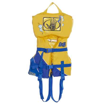Body Glove Infant Vision Type II PFD Life Jacket (For Infants and Toddlers) in Yellow/Blue - Overstock