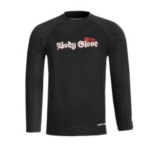 Body Glove Insotherm 0.5mm Surf Shirt - Long Sleeve (For Men) in Black - Closeouts