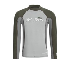 Body Glove Insotherm 0.5mm Surf Shirt - Long Sleeve (For Men) in Combat Green/Silver - Closeouts