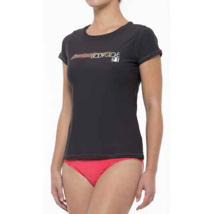 Body Glove Loose Fit Rash Guard - UPF 50, Short Sleeve (For Women) in Black - Closeouts