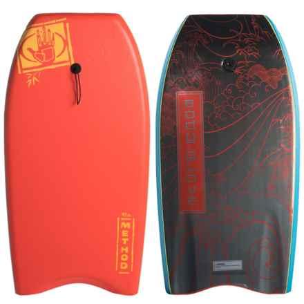 "Body Glove Method 41"" Bodyboard in Red - Overstock"