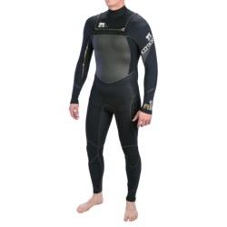 Body Glove Neo-Zip Full Wetsuit - 3/2mm (For Men) in Black