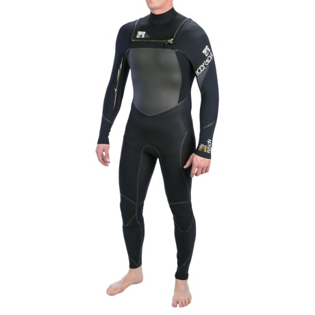 Body Glove Neo-Zip Full Wetsuit - 3/2mm (For Men) in Black