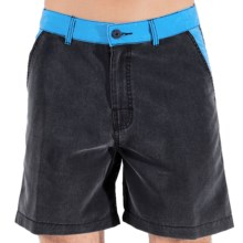 Body Glove Ocean Drive Amphibious Volley Shorts (For Men) in Black - Closeouts