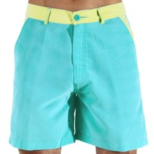 Body Glove Ocean Drive Amphibious Volley Shorts (For Men) in Sea Blue - Closeouts