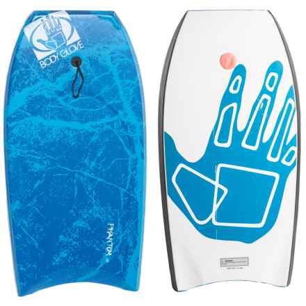 "Body Glove Phantom Bodyboard with Leash - 41"" in Blue - Overstock"