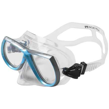 Body Glove Professional Dive Mask (For Women) in Aqua - Closeouts