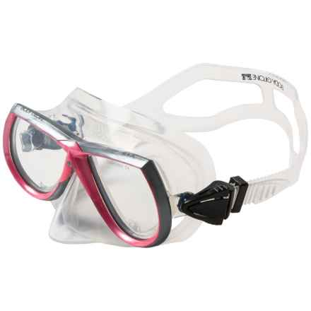 Body Glove Professional Dive Mask (For Women) in Pink - Closeouts