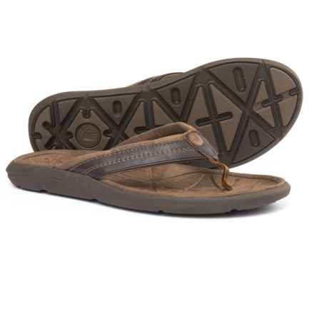 Body Glove Quest Flip-Flops (For Men) in Brown/Brown - Closeouts