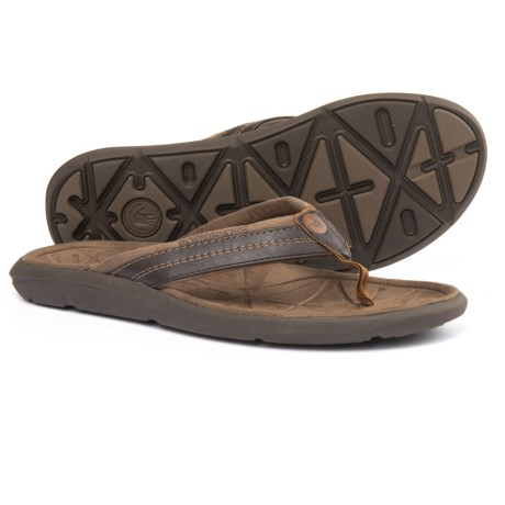 Body Glove Quest Flip-Flops (For Men) in Brown/Brown