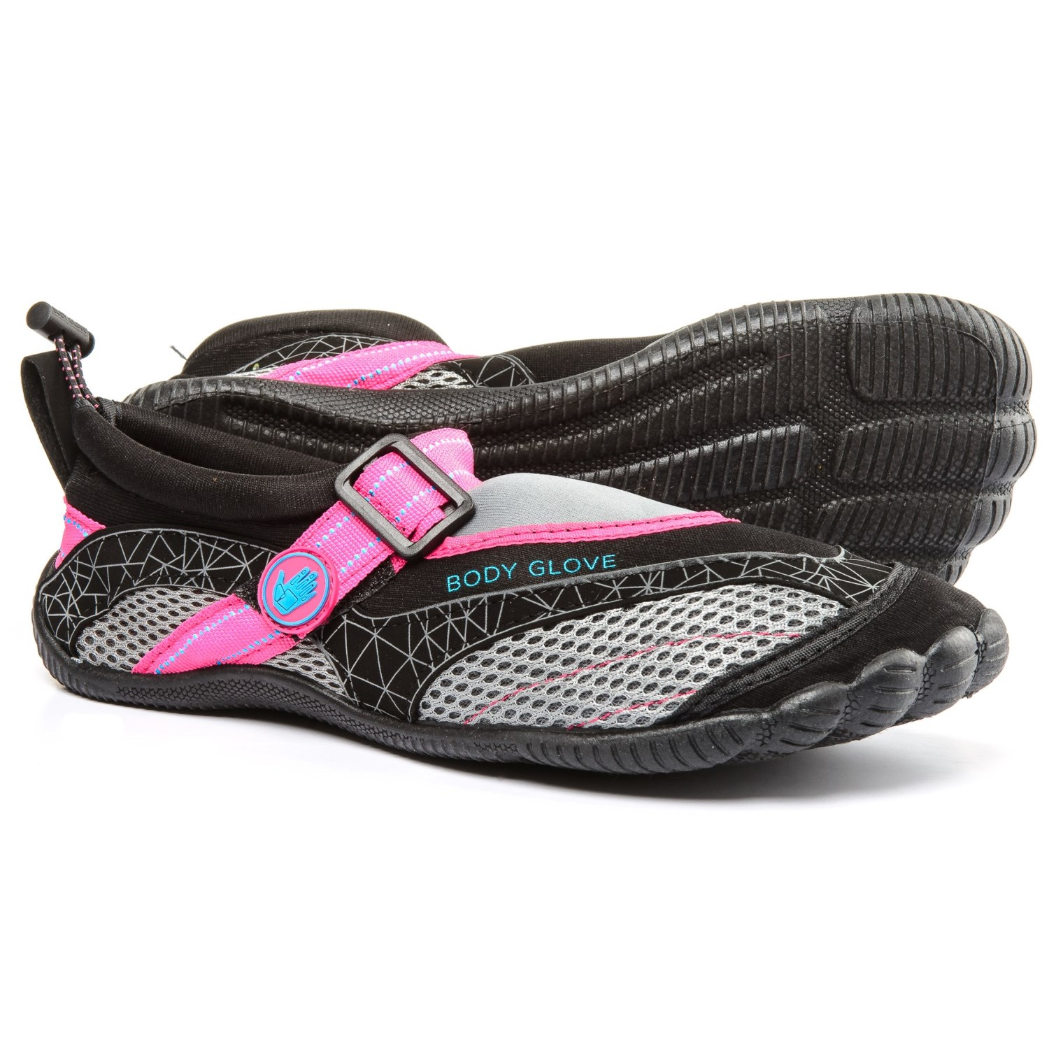 ba9977c4c5e9 Body Glove Realm Water Shoes (For Women) in Black Neon Pink