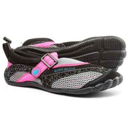 Body Glove Realm Water Shoes (For Women) in Black/Neon Pink - Closeouts