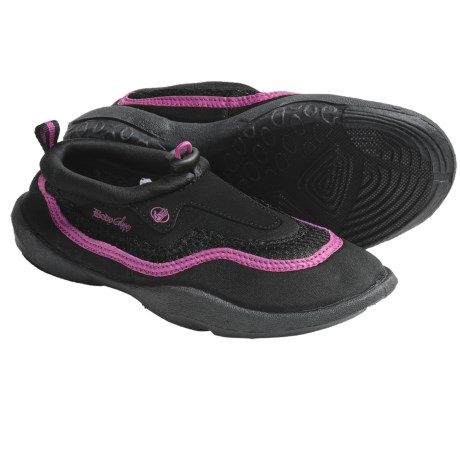 Body Glove Riptide 2 Water Shoes (For Boys and Girls) in Black/Magenta