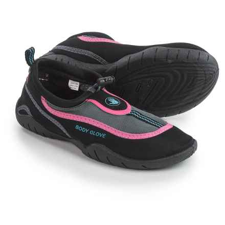 Body Glove Riptide 3 Water Shoes (For Women) in Black/Dark Shadow - Closeouts