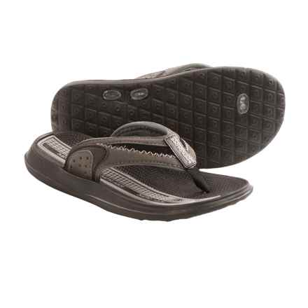 Body Glove s Cruise II Flip-Flops (For Little and Big Kids) in Grey/Black - Closeouts