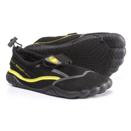 Body Glove Seek Water Shoes (For Girls) in Black/Yellow/Grey