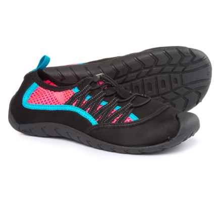 Body Glove Sidewinder Water Shoes (For Women) in Black/Neon Pink - Closeouts