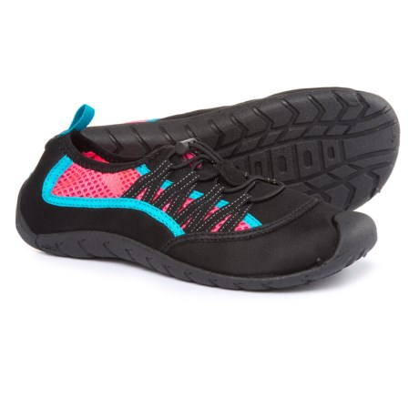 Women's Tide Water Socks - Size: 10 Black/pink