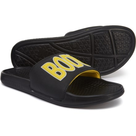 ffec0d607aa7 Body Glove Slide Away Sandals (For Men) in Black Yellow