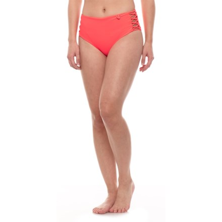 795092dabf8 Body Glove Smoothies Retro High Rise Bikini Bottoms (For Women) in Vivo