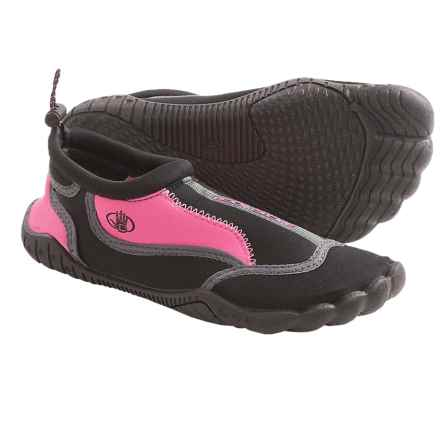 Body Glove Soak Water Shoes (For Girls) in Black/Pink - Closeouts