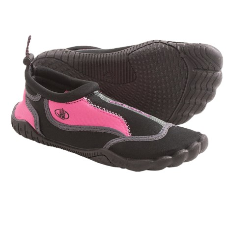 Body Glove Soak Water Shoes (For Girls) in Black/Pink