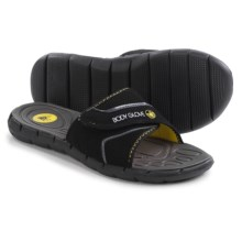 Body Glove Strapped Sandals (For Men) in Black/Yellow - Closeouts
