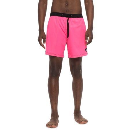 Body Glove Twinner Vapor Volleys Swim Trunks (For Men) in Neon Pink