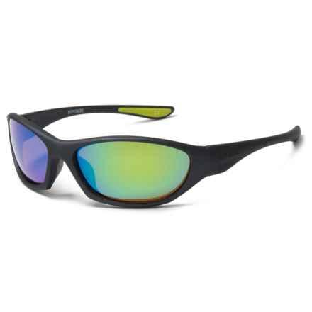 Body Glove Vapor 22 Sunglasses - Polarized in Green Mirror - Closeouts