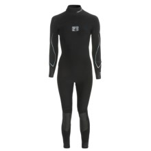 Body Glove Vapor Full Wetsuit - 3/2mm (For Women) in Black/Crystal Blue - Closeouts