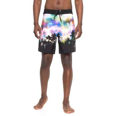 Body Glove Vapor Nebula Sunset Boardshorts (For Men) in Multi - Closeouts