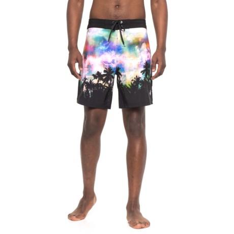Body Glove Vapor Nebula Sunset Boardshorts (For Men) in Multi