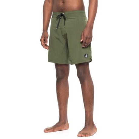 Body Glove Vapor Twin Spin Boardshorts (For Men) in Olive