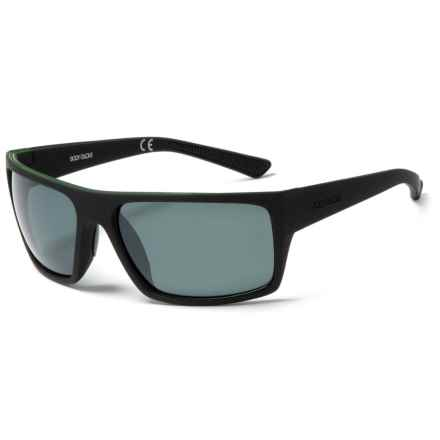 Body Glove Waterman Sunglasses - Polarized in Black - Closeouts