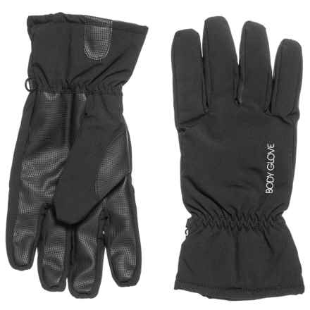 1b8b7fdfa1f Body Glove Woven Touchscreen Soft Shell Ski Gloves - Insulated (For Women)  in Black