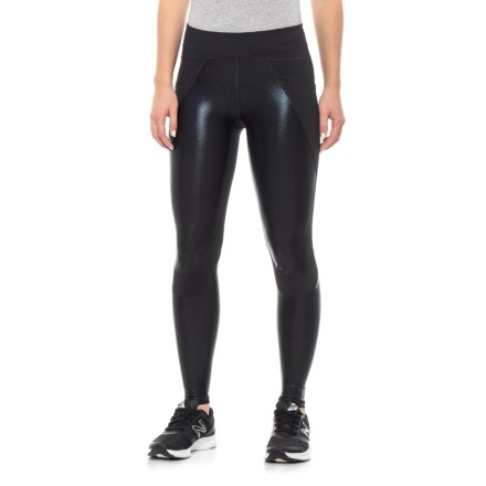 a300586d4c Body Language Blade Leggings (For Women) in Black Foil - Closeouts