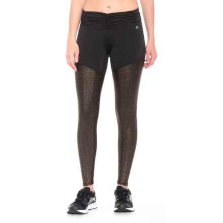Body Language Callia Leggings (For Women) in Black/Bronze - Closeouts