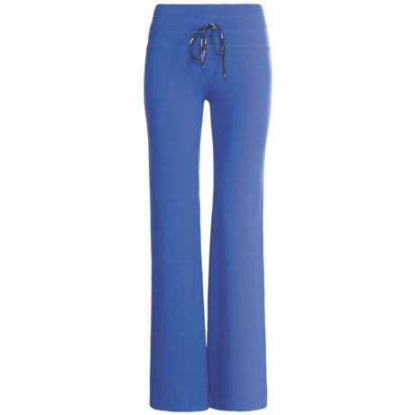 Body Up E.Z. Yoga Pants (For Women) in Blue