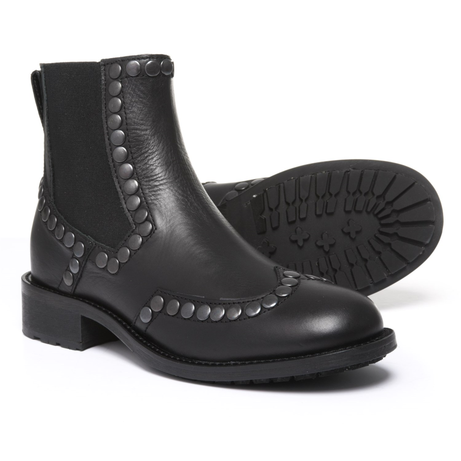 Boemos Studded Chelsea Boots - Leather (For Women)