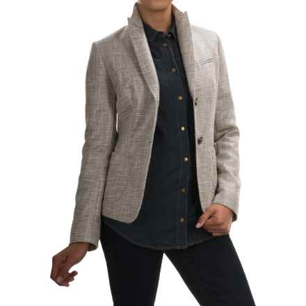 Bogner Adrienne Blazer (For Women) in Grey Tweed - Closeouts
